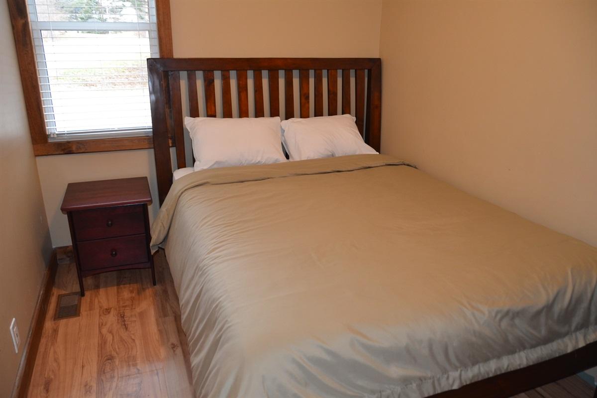Bedroom #3 with Queen size bed