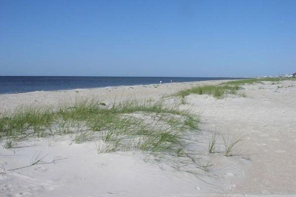Beach via public access boardwalk  only 1.5 blocks away