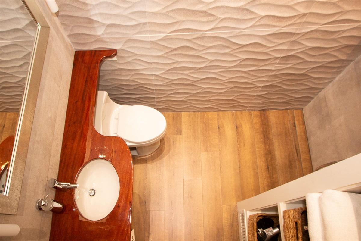 West Bathroom 2 with zero curb shower