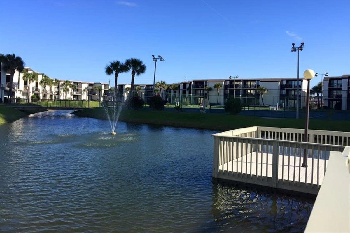 Pier/pond/grounds