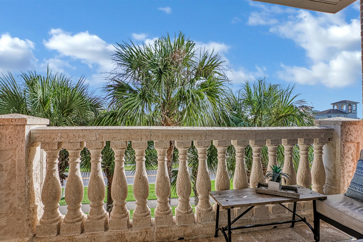 Balcony - Overlooking 30A