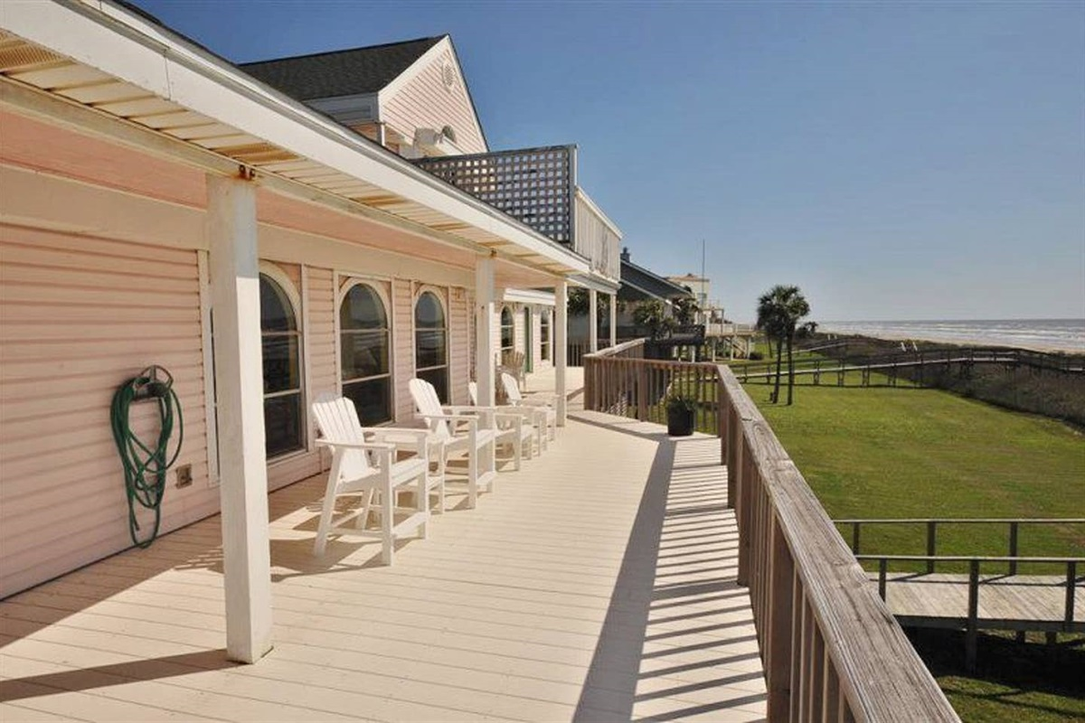 Main Balcony Offers the Best of Both Worlds - Covered & Uncovered Deck