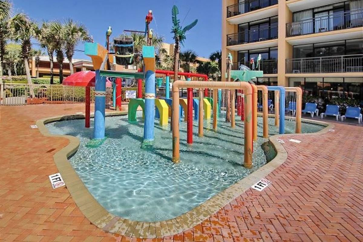 Kiddie Pool at Resort Building