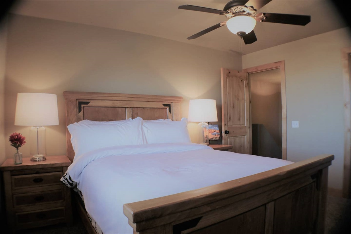 Suite #2 with queen bed