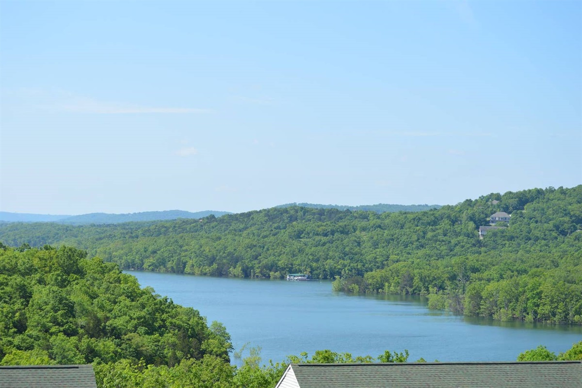 Our unit overlooks Table Rock's Lantern Bay
