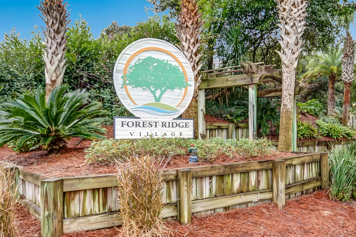 Welcome!  Forest Ridge Vacation