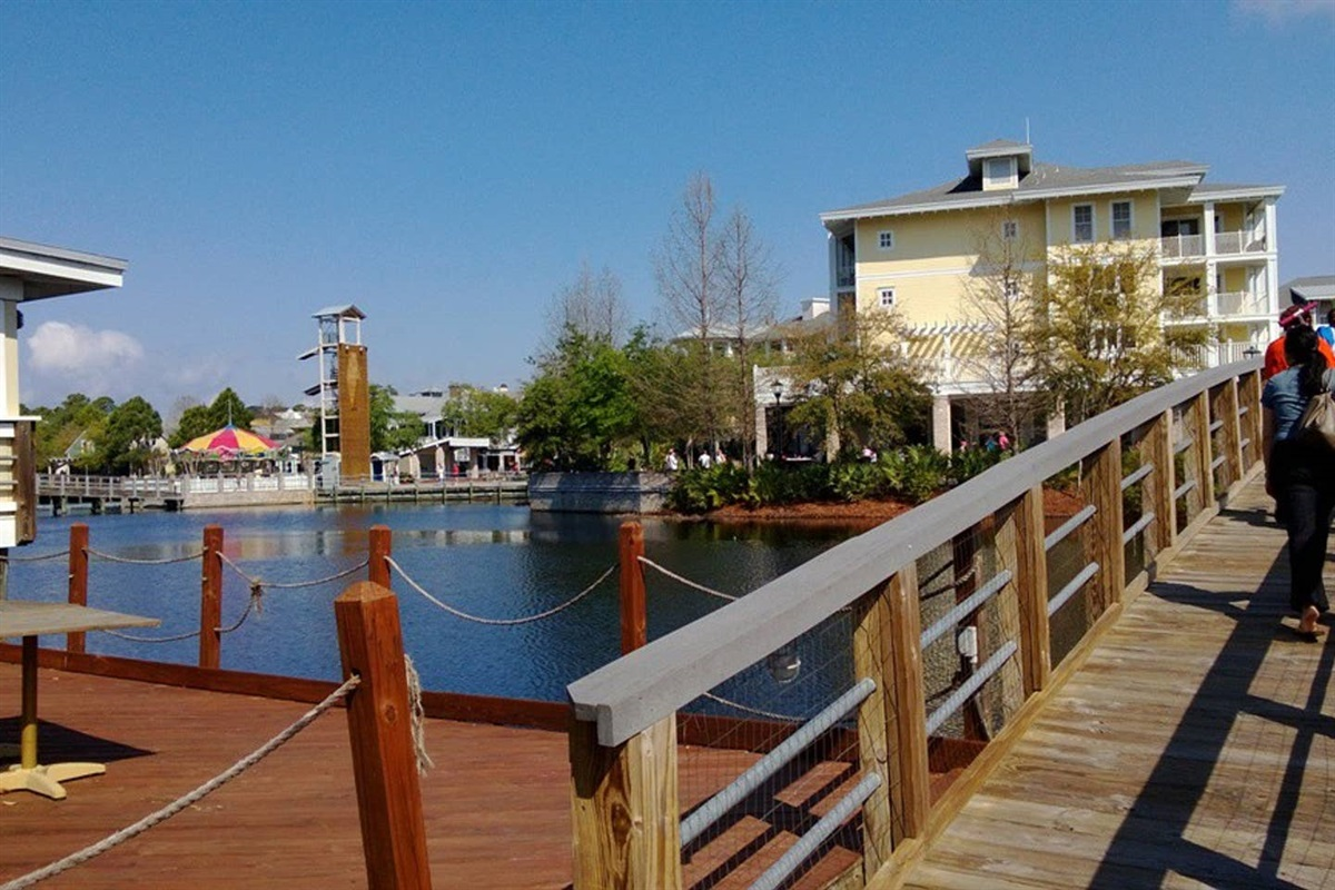 Another view of the Village of Baytowne Wharf.