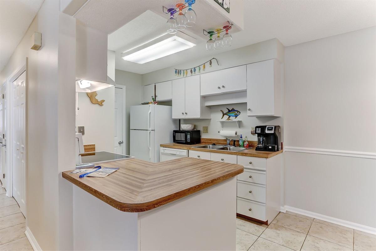 Open & Bright Kitchen