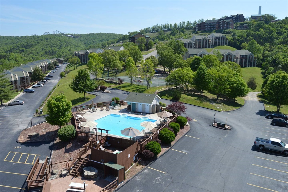 Have fun in our pool or relax in our hot tub!