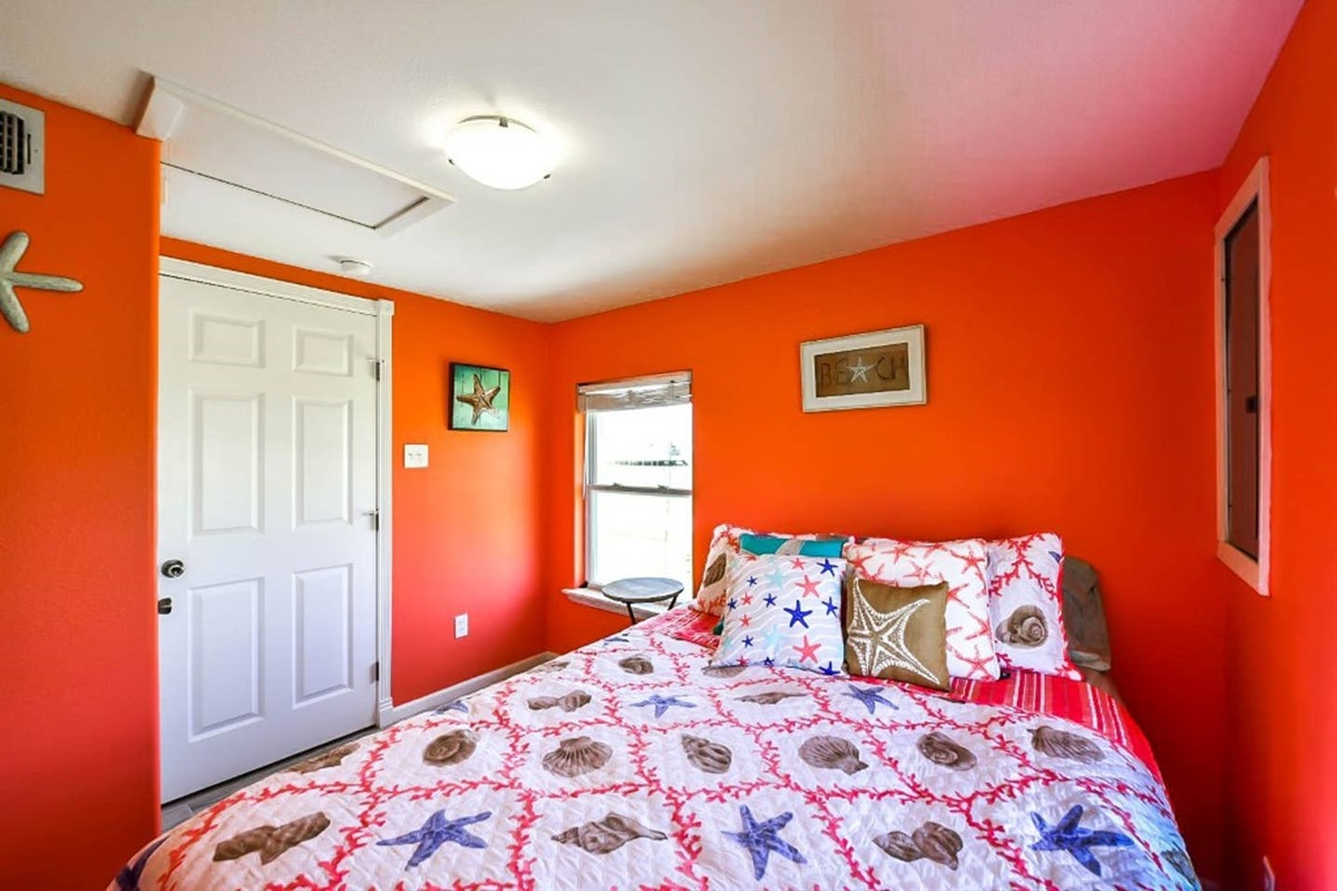 Guest Bedroom with Queen Bed - main house
