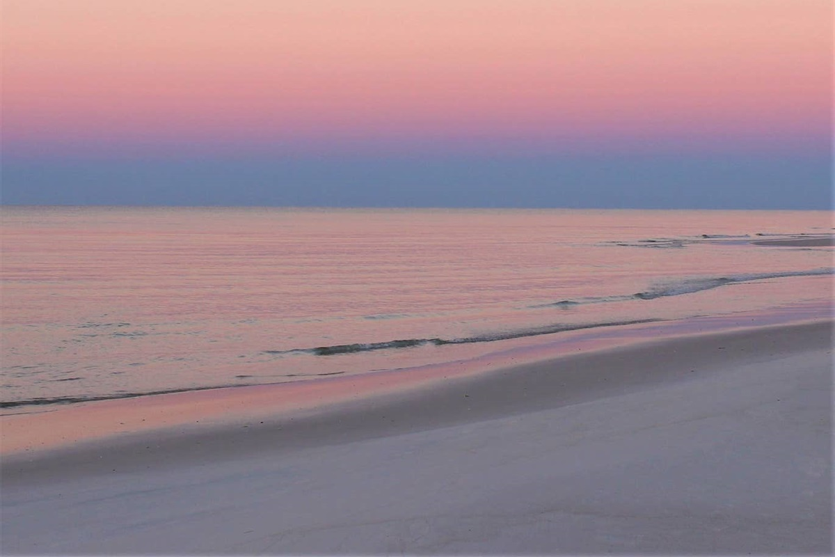 Beautiful beach at Sugar Beach!