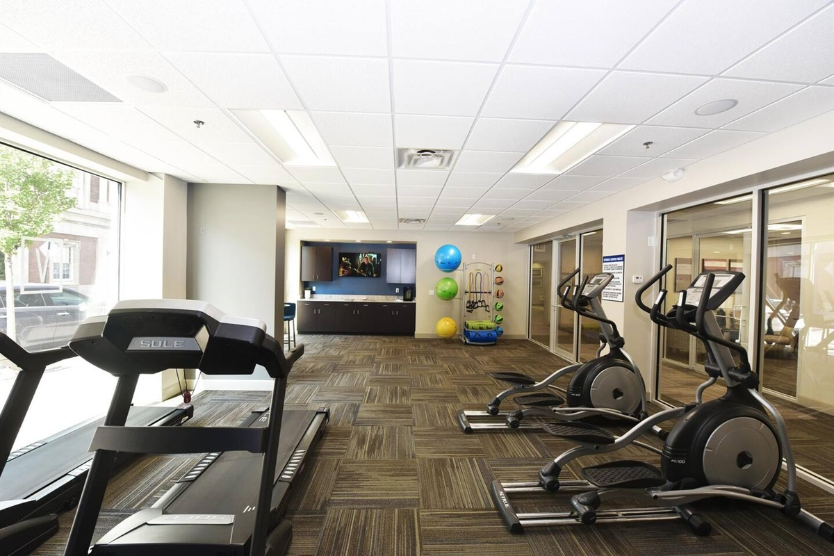 Fitness Center available to you 24 hours!