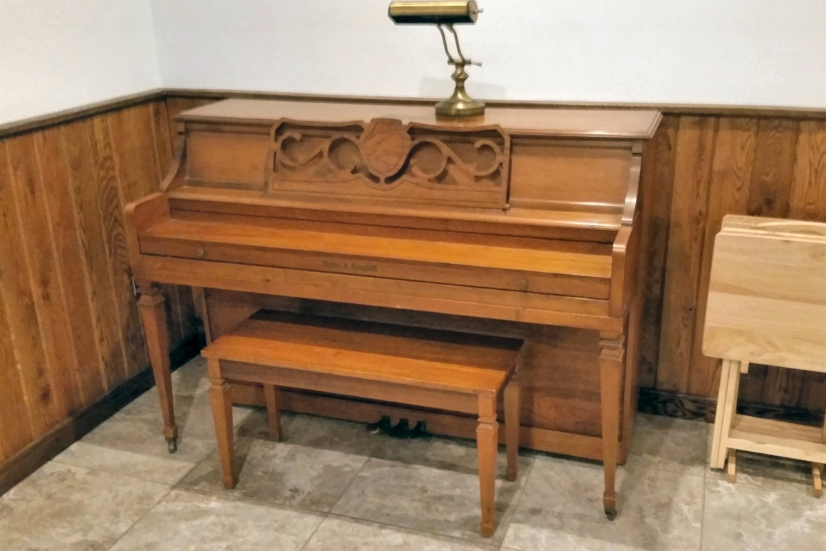 Playable piano