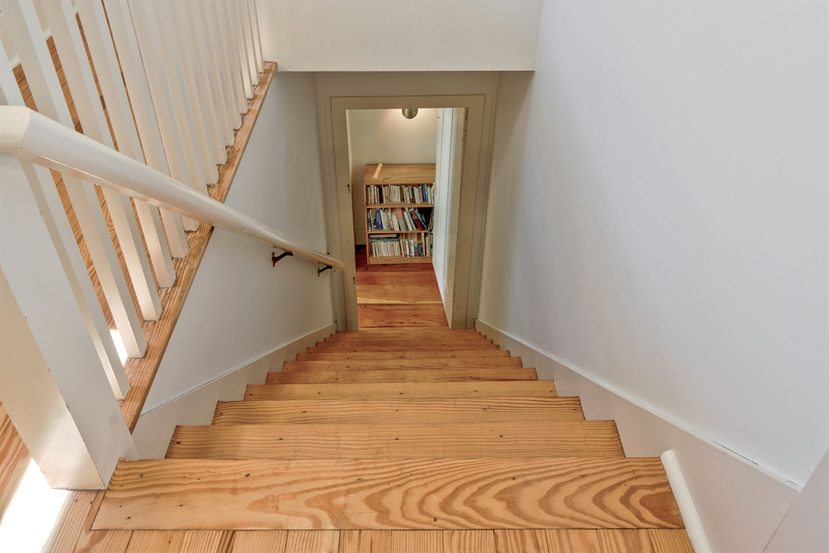 West Stairs from the 3rd floor