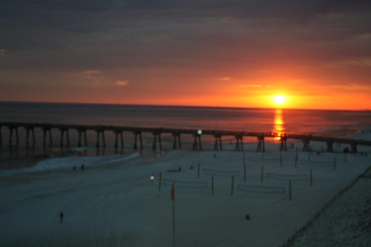 Sunset @ the Pier