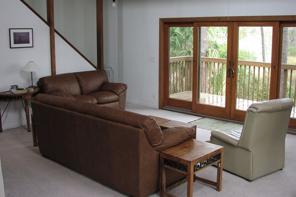 Comfortable furniture with amazing views
