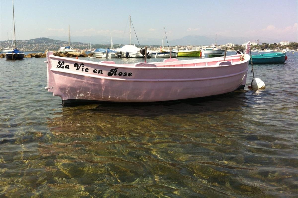 Farniente sur la Cote d'Azur au Port de l'Olivette, Cap d'Antibes