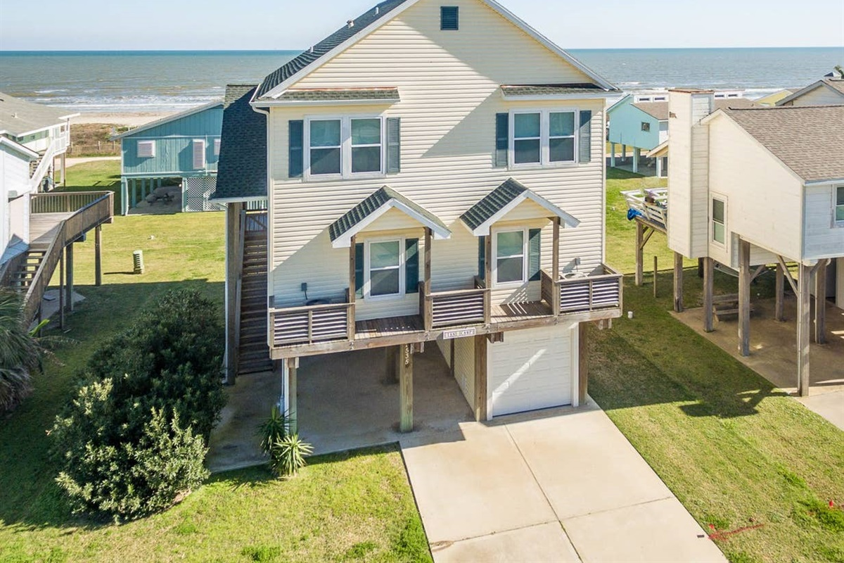 Tan Camp - Coastal Waves Vacations - Galveston Beach House in Spanish Grant