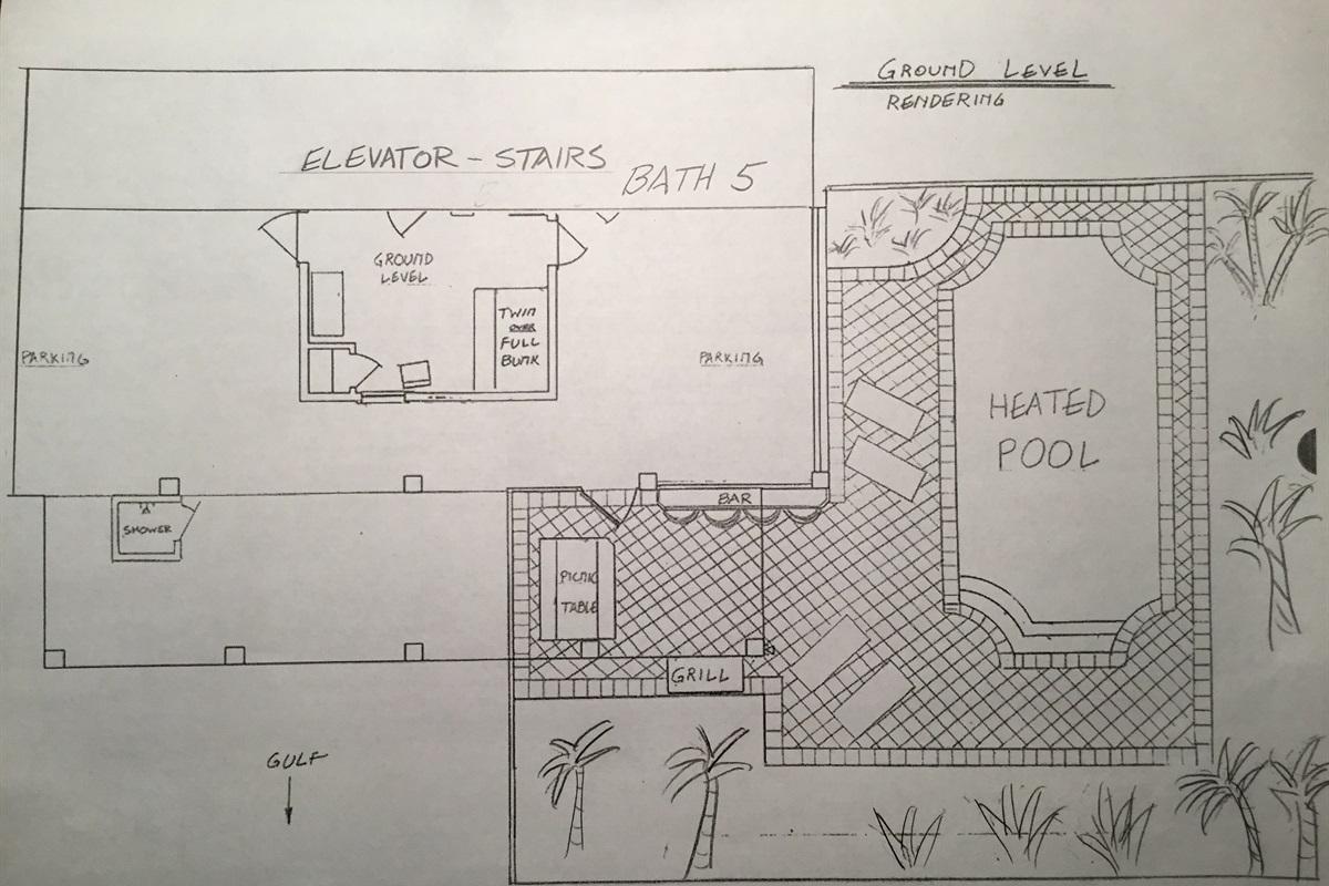 Ground level rendering