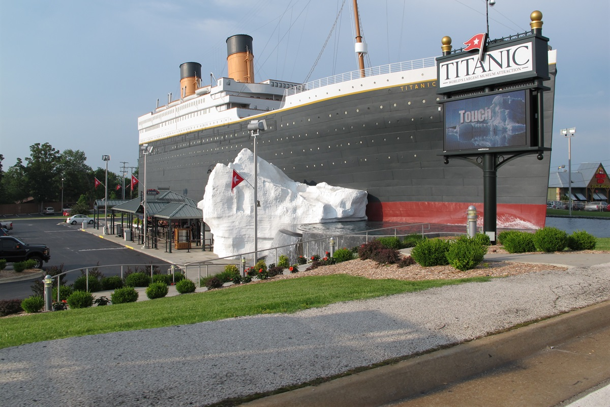 The Titanic comes alive in a museum featuring original artifacts.