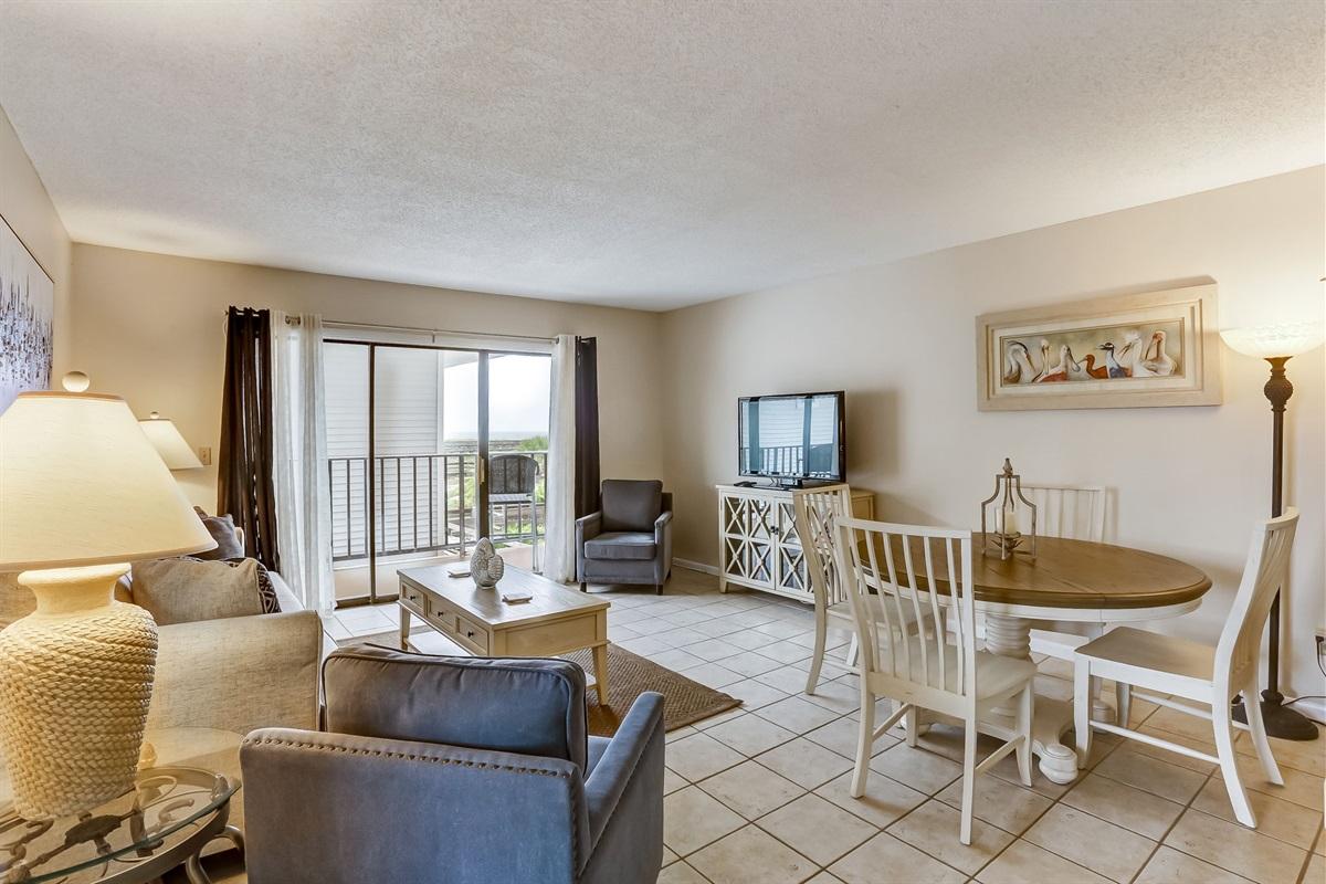 Wide Open Living Area