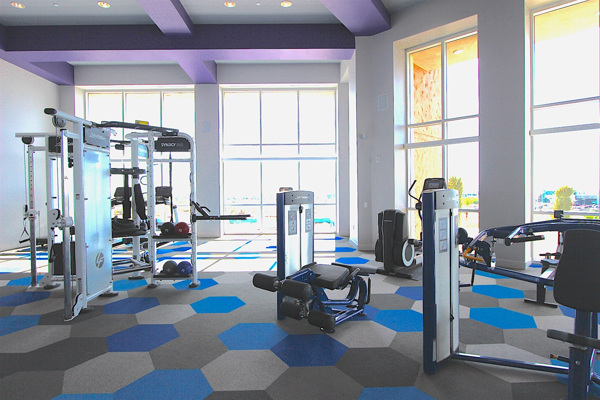 Free weights to universal machines--we have it all.