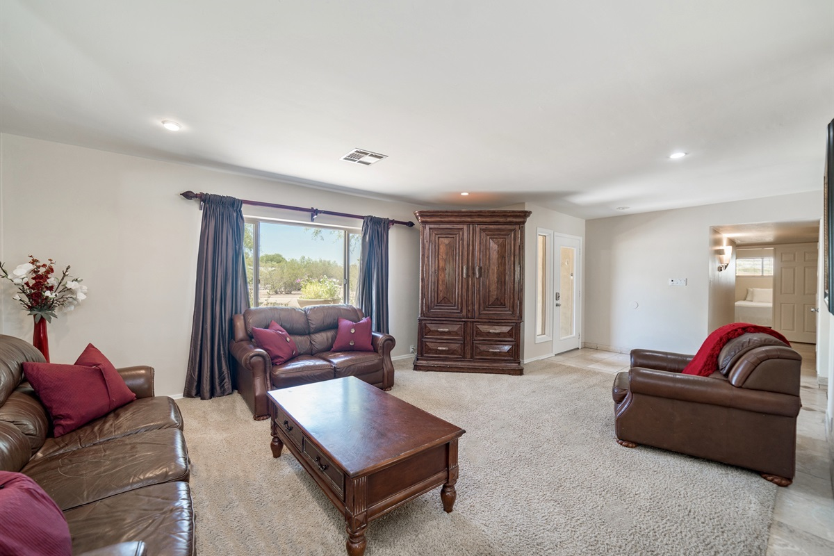 Living Room with large seating area