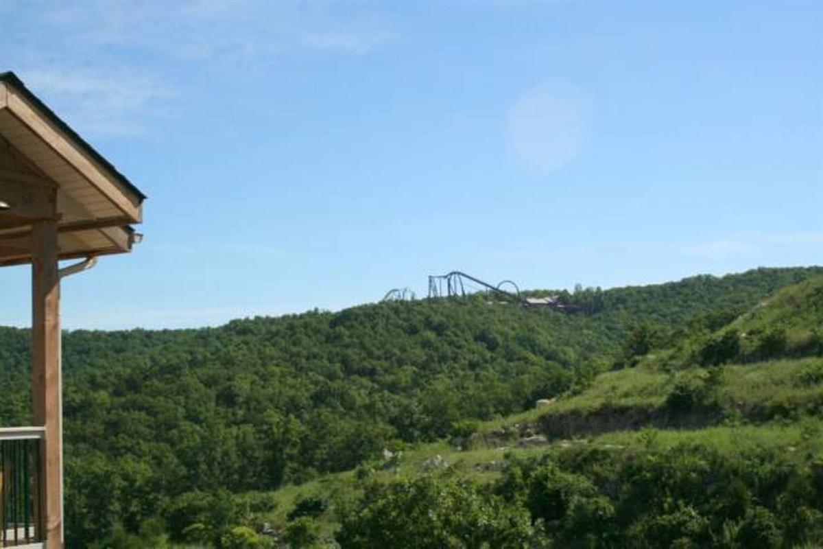View from Front of Condo and Silver Dollar City!