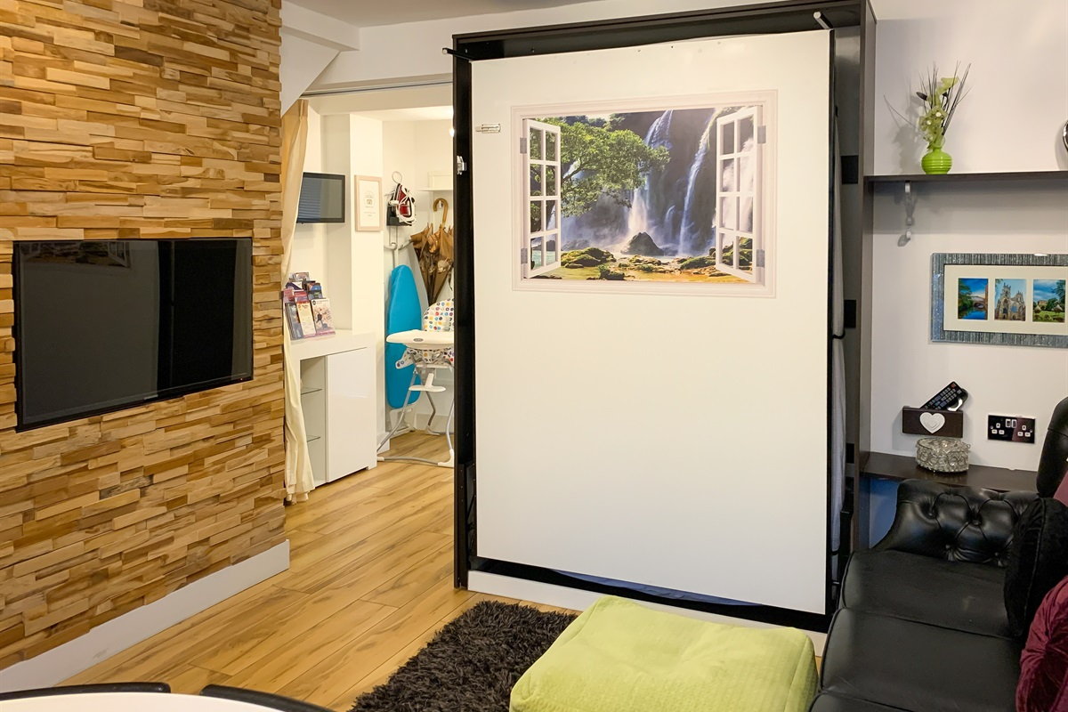 Living Area / Folding wall bed
