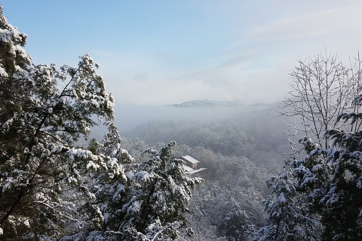 Winter time in the Smokies!