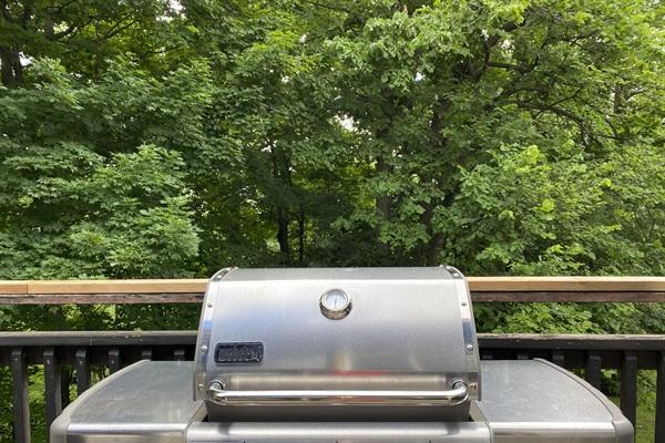 Weber natural gas BBQ