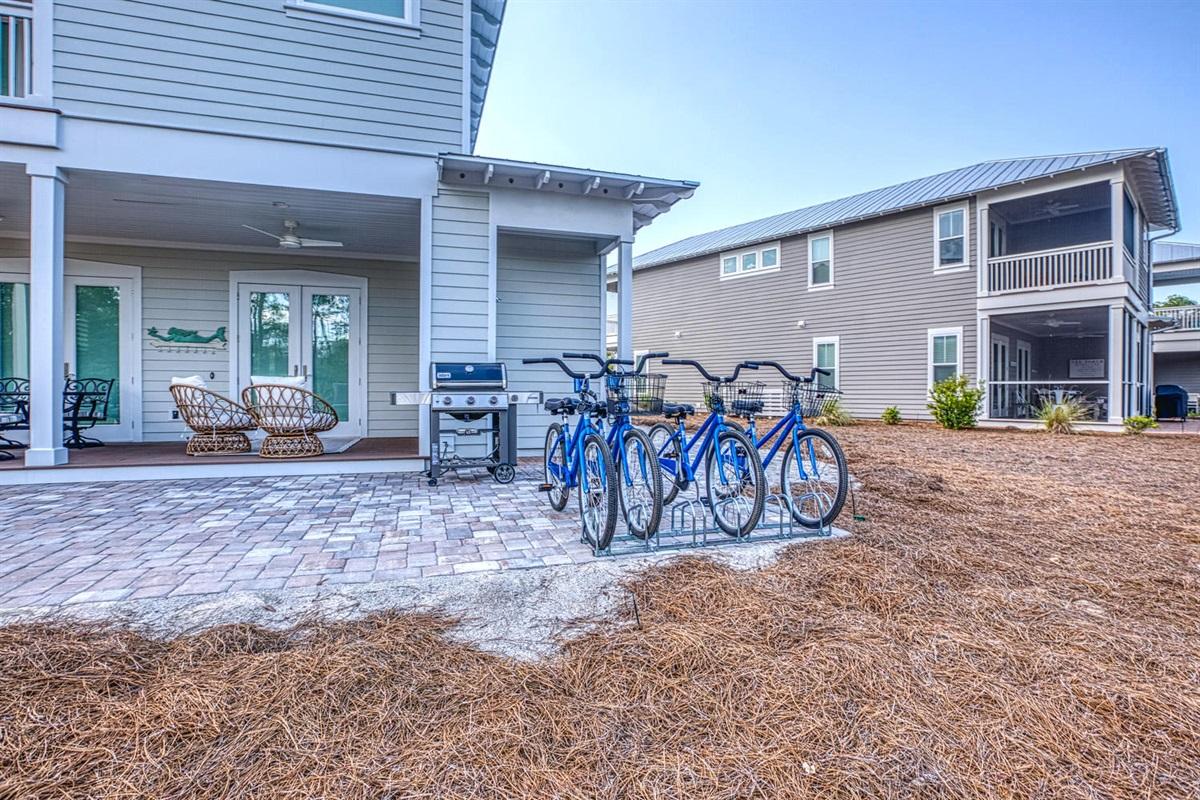 Four Adult Bikes