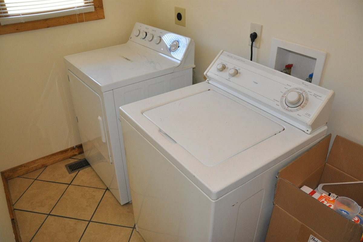 Full free laundry facilities provided
