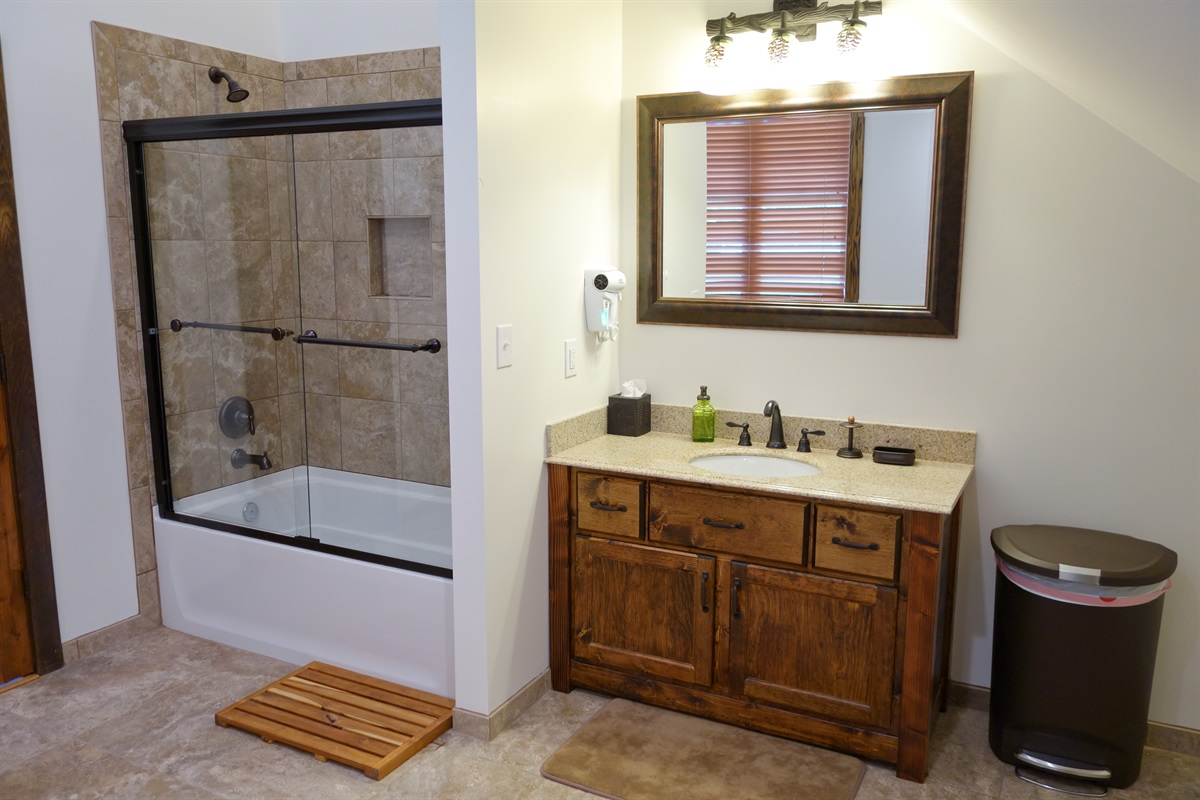 Beautiful full bathrooms with high quality fixtures - this is 1 of 5 such baths