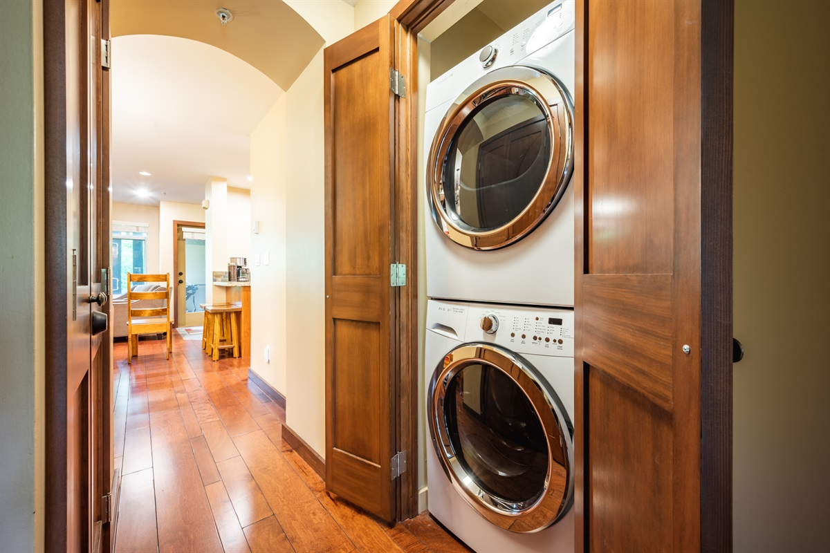 Laundry - Brand new washer and dryer to make your stay more comfortable, a must-have for longer stays.