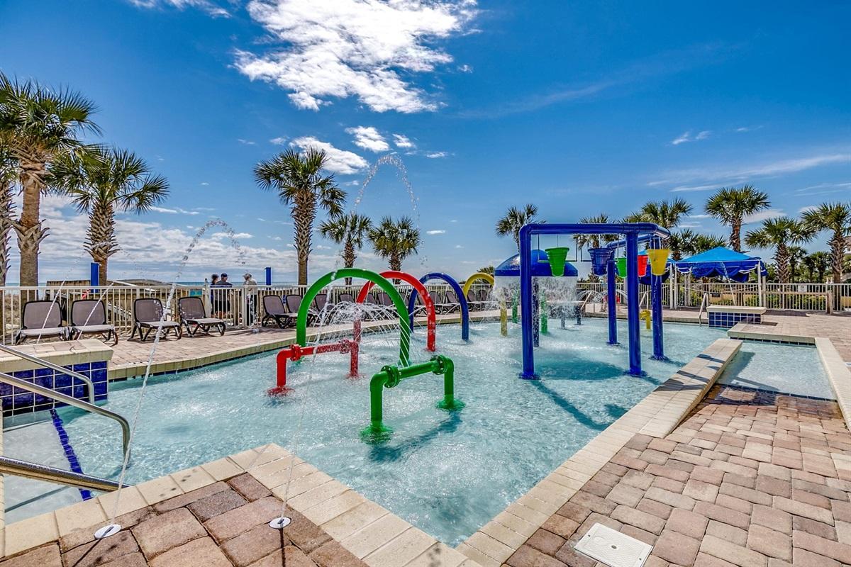 Outside Kiddie Pool