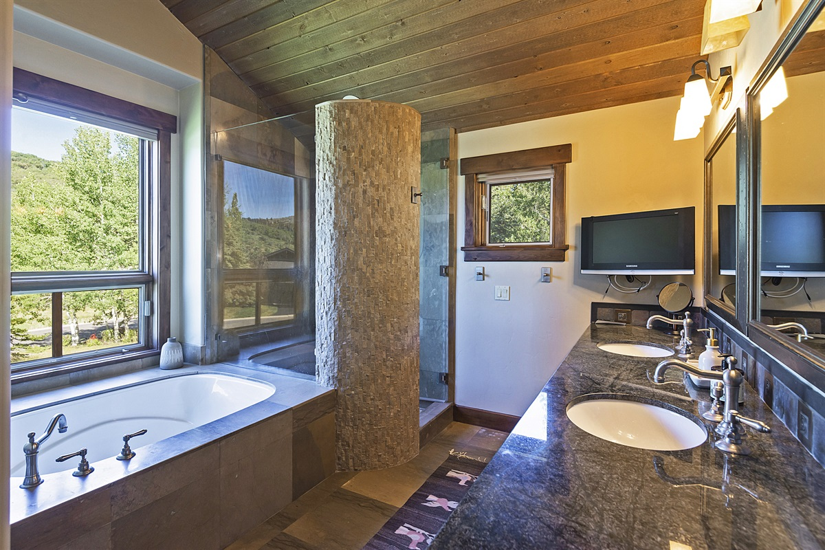 Main level master suite - bathroom