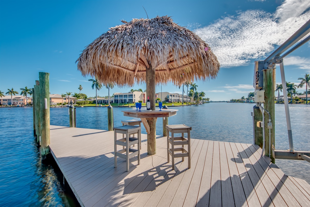 Dockside Tiki Hut