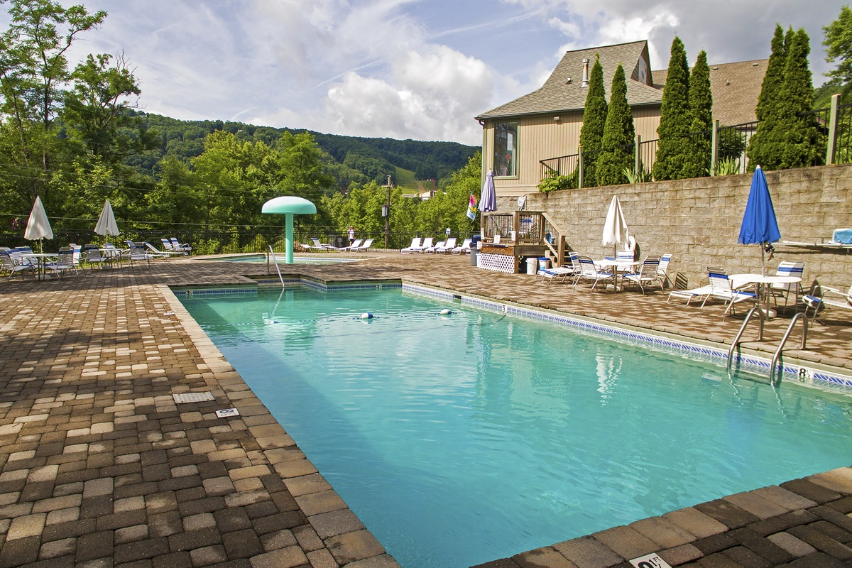 Upper Alpine Clubhouse and pools