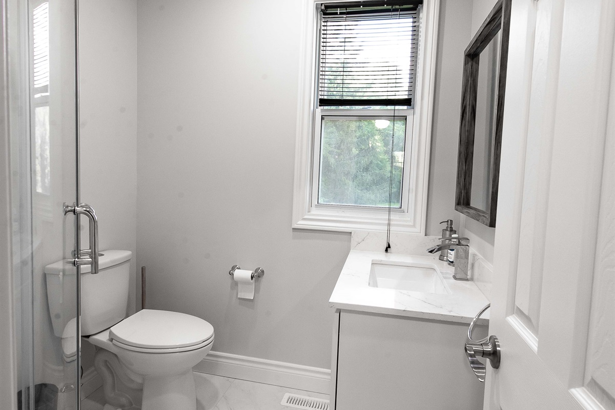 Newly renovated bathroom #2