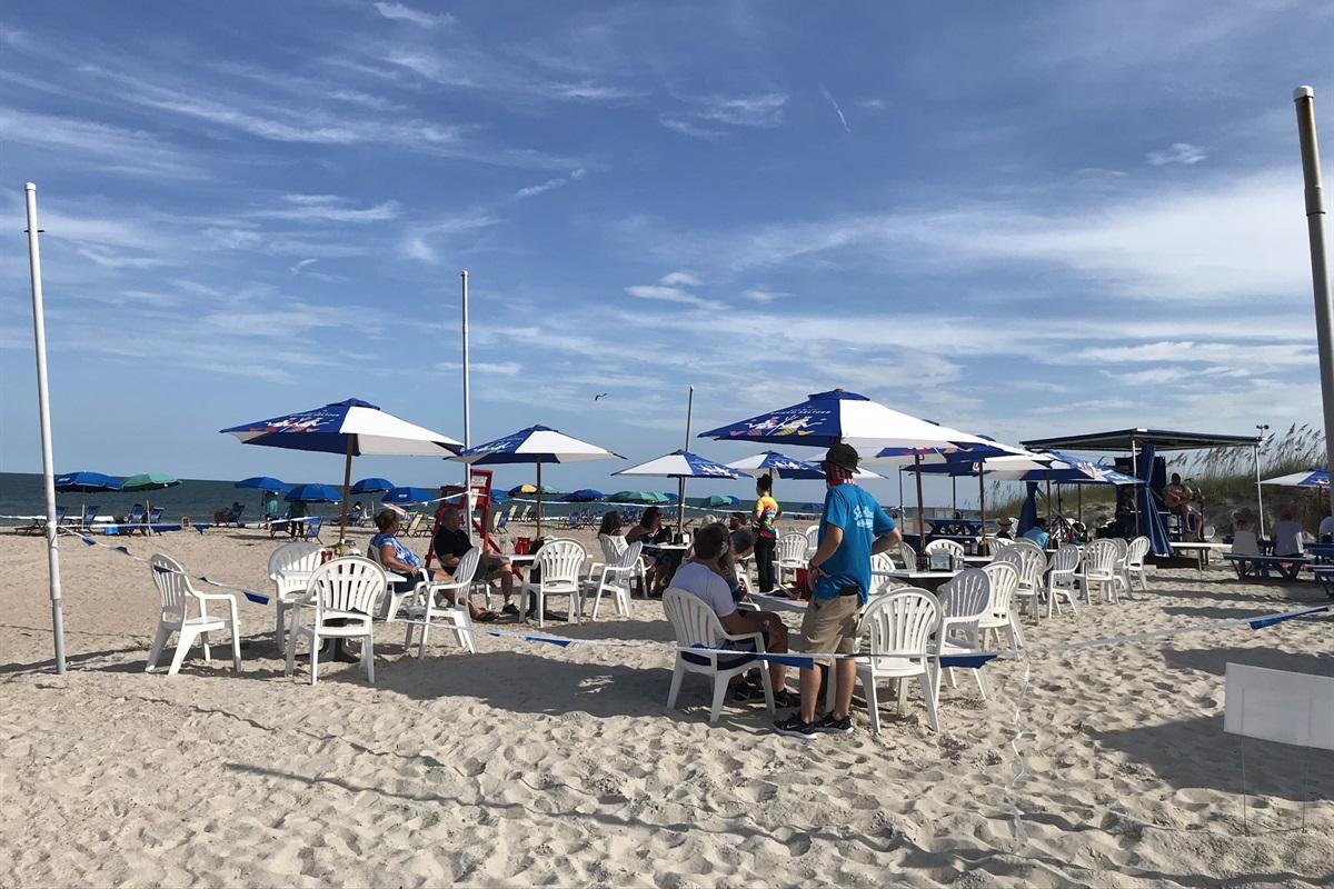 Eat on the Beach!