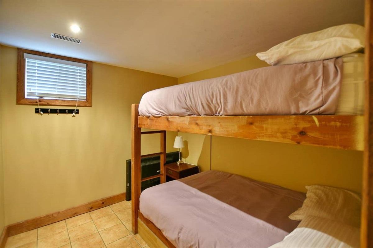 Bedroom #7 (lower level)