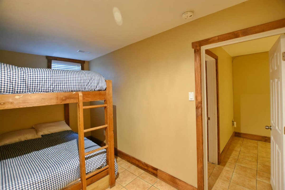 Bedroom #6 (lower level)