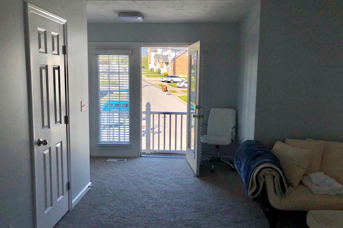 Master Bedroom Balcony Doors