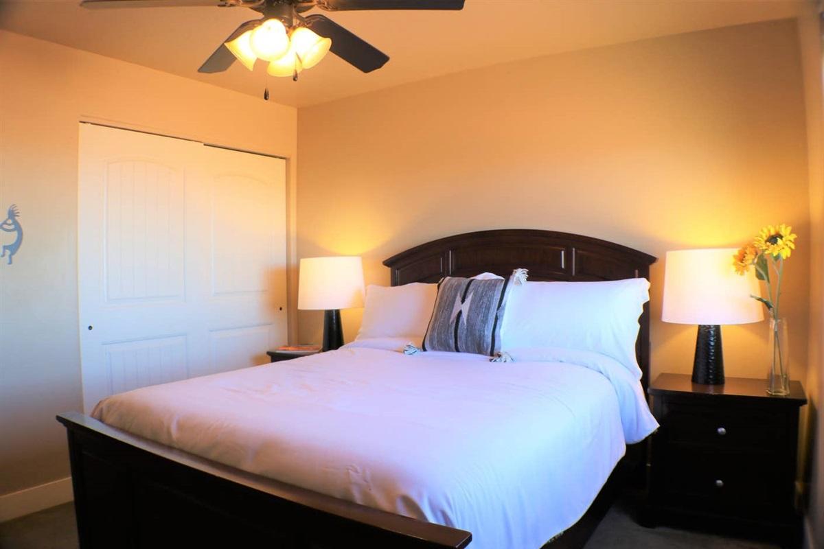 Suite #3 with queen bed